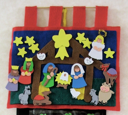 Christmas advent calendar crafts for children for Advent calendar craft for kids