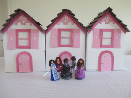 tissue box doll house how to make